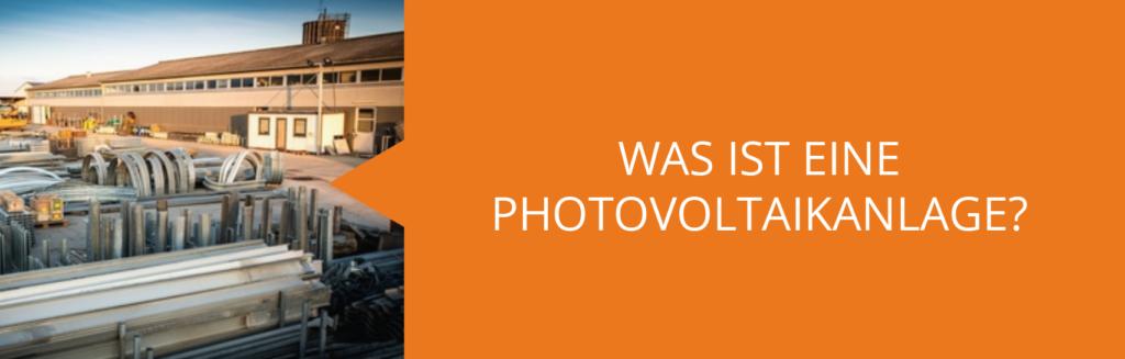 Photovoltaik was ist das